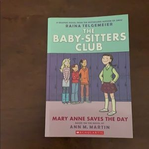 THE BABY-SITTERS CLUB MARY ANNE SAVES THE DAY